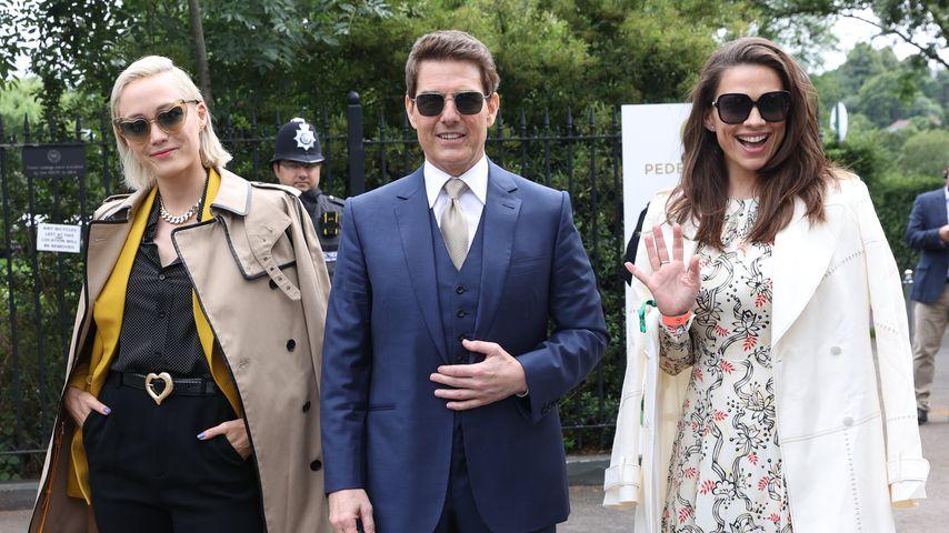 Tom Cruise und Hayley Atwell in Wimbledon