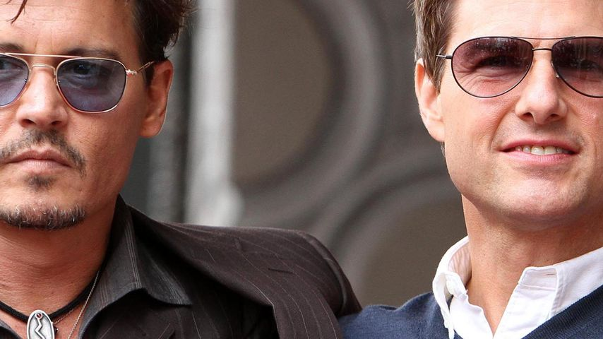 Tom Cruise & Johnny Depp: Was geht da denn?