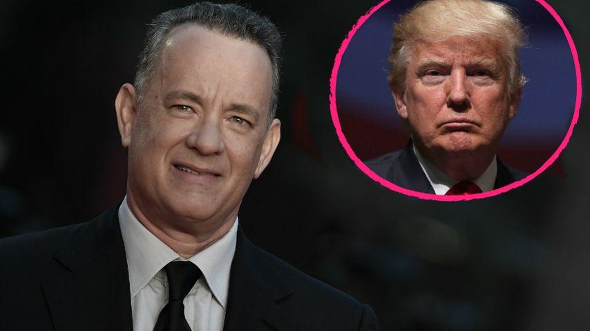 Klare Ansage: Tom Hanks vergleicht Trump mit Quacksalber!