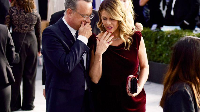 Tom Hanks und Rita Wilson in Los Angeles, Januar 2020