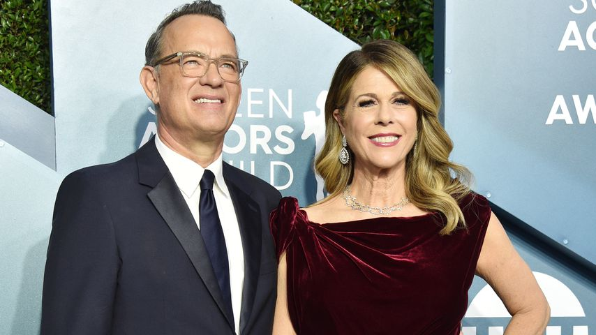 Tom Hanks und Rita Wilson, Januar 2020