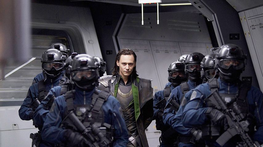 """Tom Hiddleston in """"The Avengers"""""""