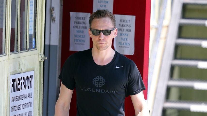 Tom Hiddleston unterwegs in West Hollywood