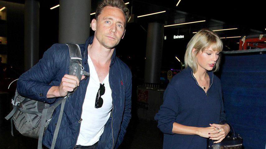 Tom Hiddleston und Taylor Swift im Sommer 2016 am Flughafen in L.A.