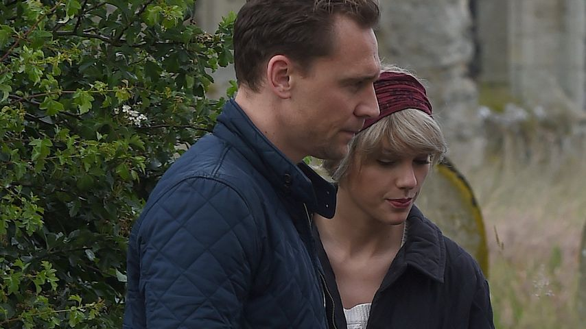 Tom Hiddleston und Taylor Swift in Lowestoft