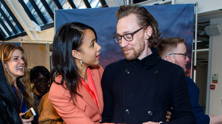 Zawe Ashton und Tom Hiddleston, 2019 in London