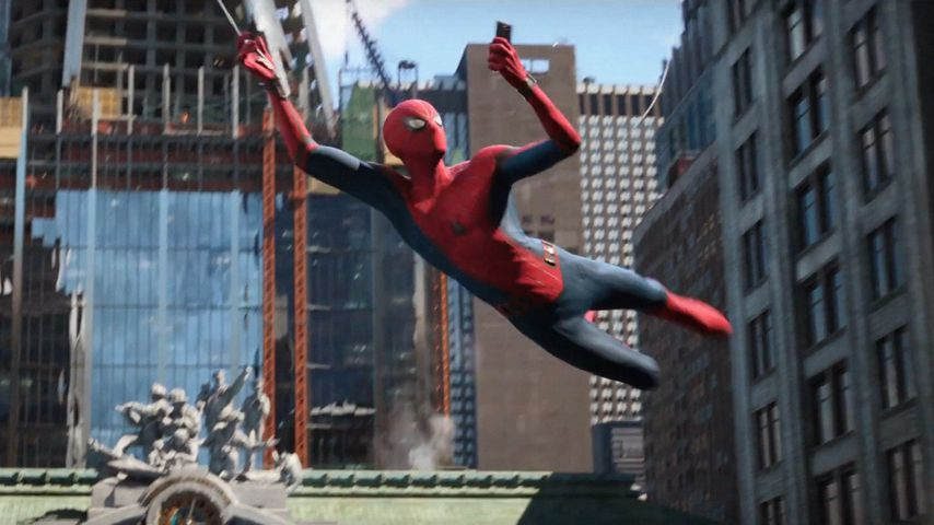 "Tom Holland in ""Spider-Man: Far From Home"""