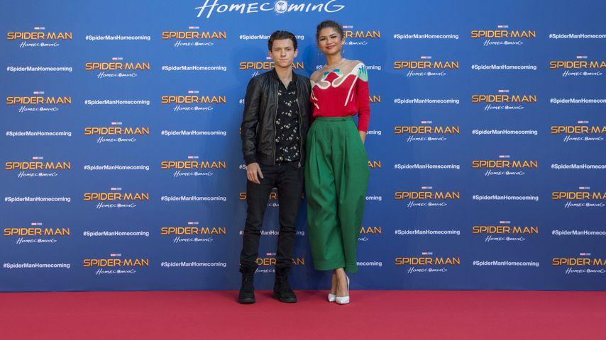 Tom Holland und Zendaya Coleman