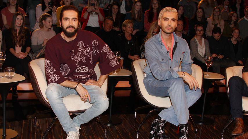 """Tom und Bill Kaulitz bei """"Markus Lanz"""" im Februar 2019"""