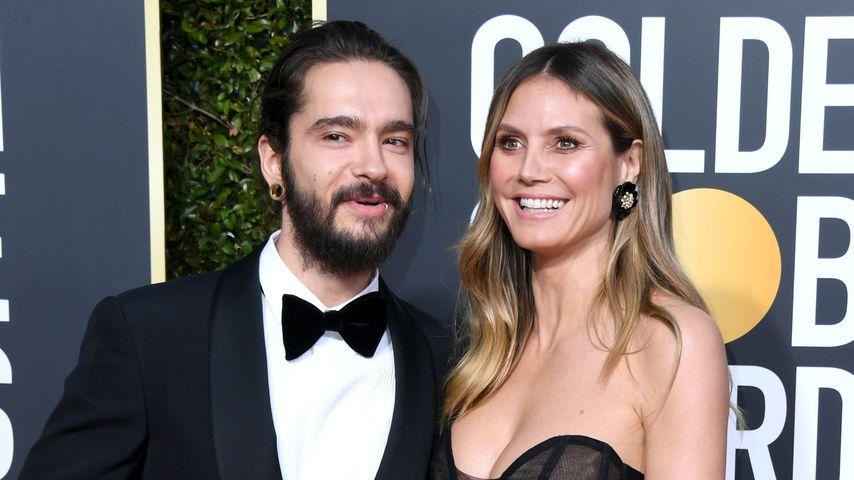 Tom Kaulitz und Heidi Klum im Januar 2019