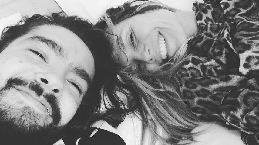 Tom Kaulitz und Heidi Klum im Juni 2019 in Paris