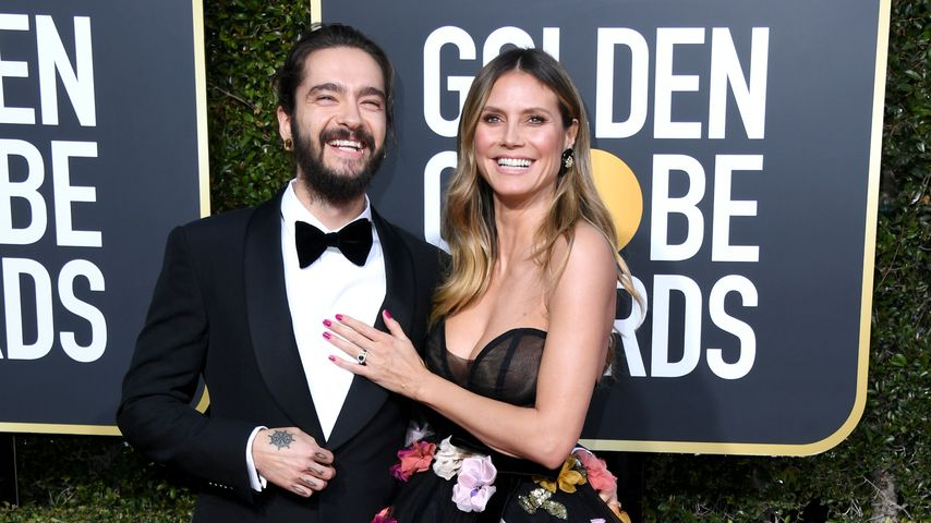 Tom Kaulitz und Heidi Klum bei den Golden Globe Awards 2019