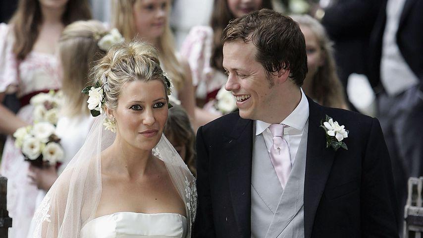 Tom Parker Bowles und seine Frau Sarah bei ihrer Hochzeit