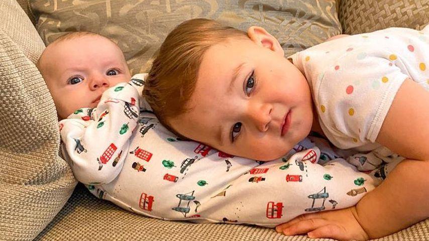 Tom Parkers Kinder Bodhi und Aurelia, Januar 2021