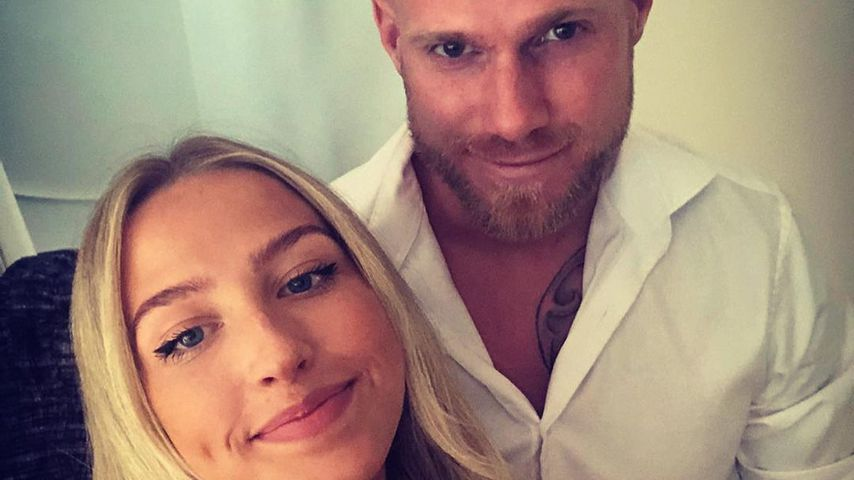 Tomáš Kalas mit seiner Freundin