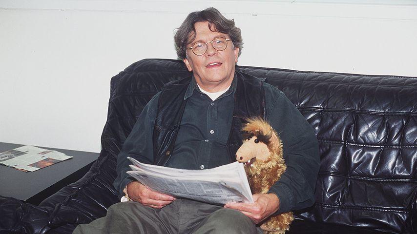 """Tommi Piper beim """"Frühstücksfernsehen"""" im Jahr 1996"""