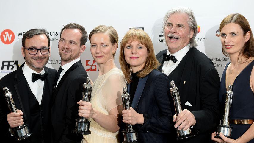 """Die """"Toni Erdmann""""-Crew bei den European Film Awards 2016"""