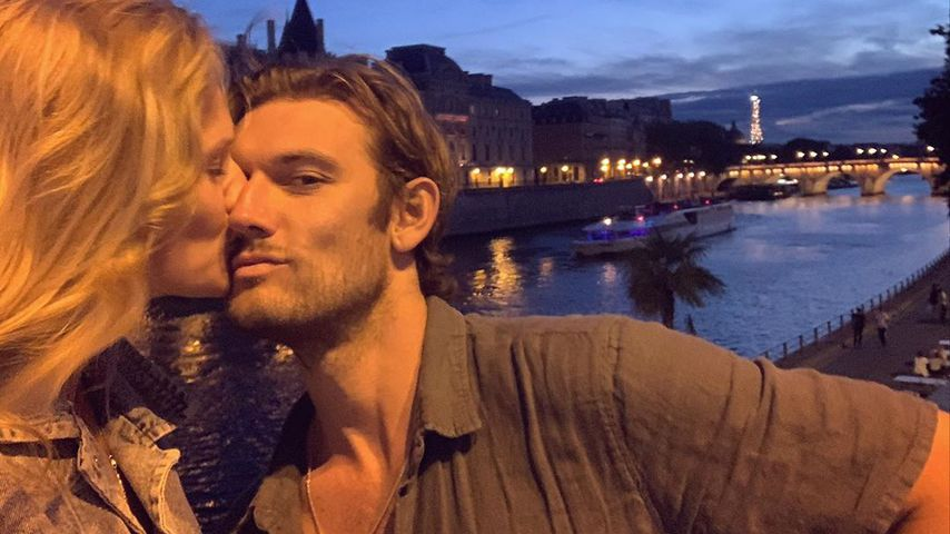 Toni Garrn und Alex Pettyfer in Paris, August 2020