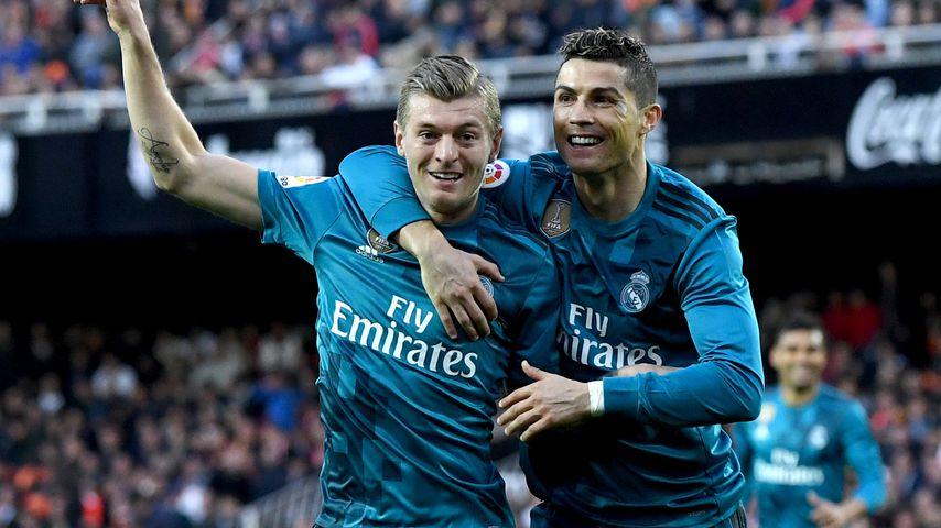 Toni Kroos und Cristiano Ronaldo