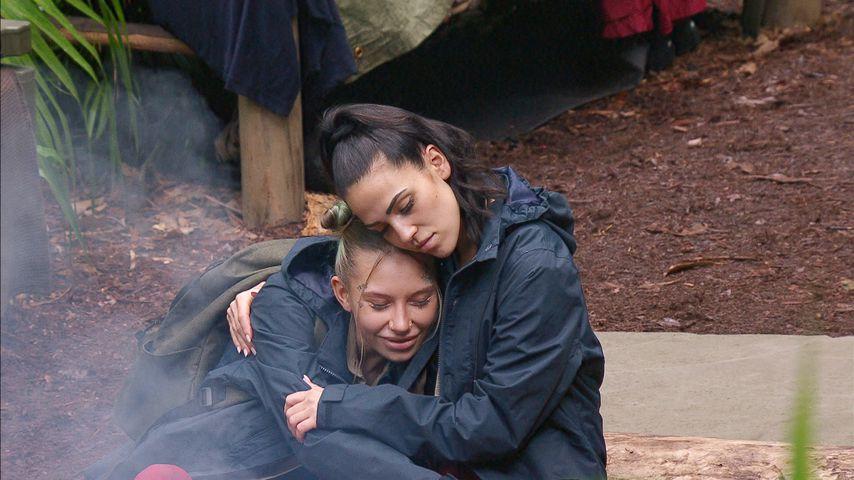 Toni Trips und Elena Miras an Tag zehn im Dschungelcamp