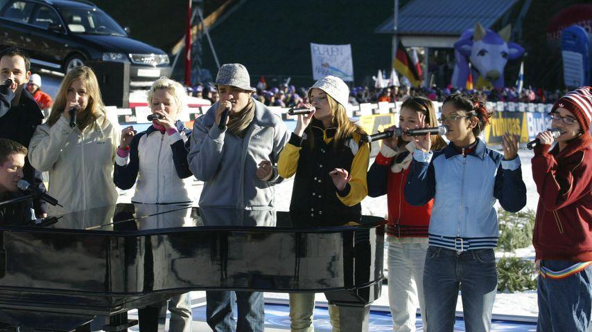 Top 10 der ersten DSDS-Staffel bei der Vierschanzen-Tournee 2003