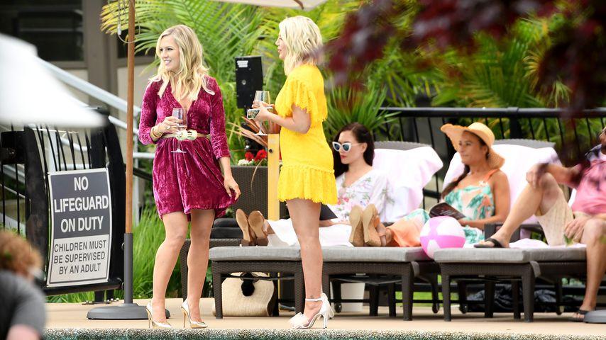 Jennie Garth und Tori Spelling, Schauspielerinnen