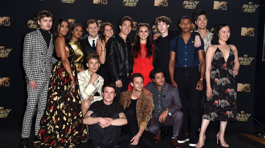 """Tote Mädchen lügen nicht""-Cast bei den MTV Movie and TV Awards 2017 in Los Angeles"