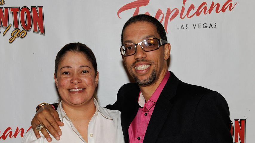Tracey Davis und Barrett LaRoda im Oktober 2009 in Las Vegas