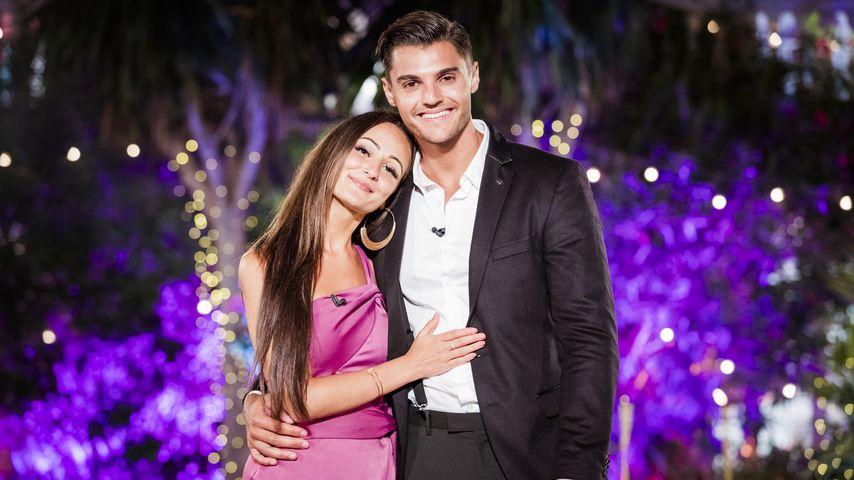 """Tracy und Marcellino im """"Love Island""""-Finale 2018"""
