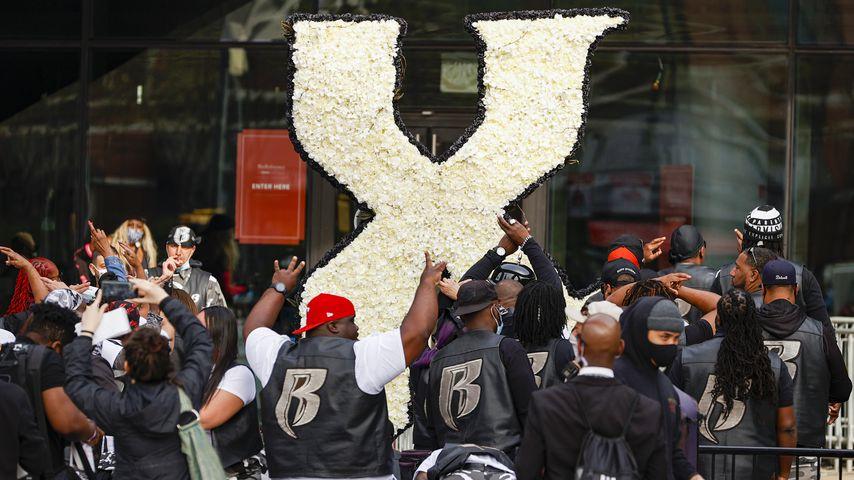 Trauerfeier für Rapper DMX im April 2021
