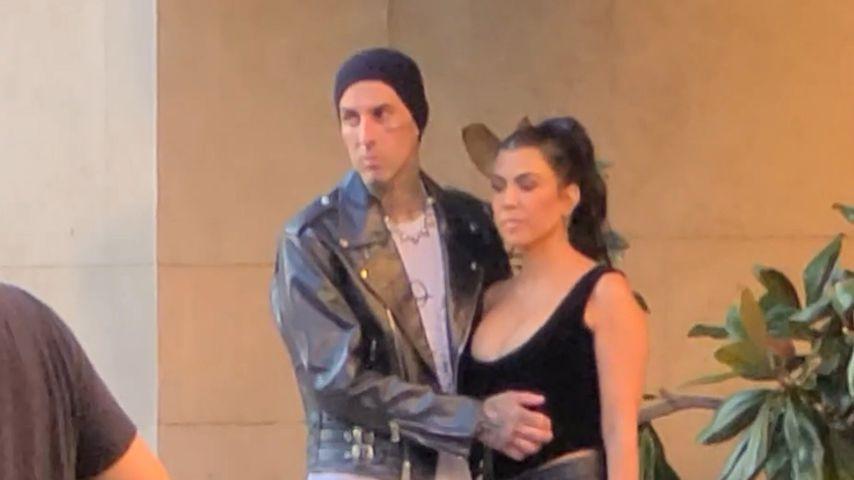 Travis Barker und Kourtney Kardashian in Las Vegas, Juli 2021