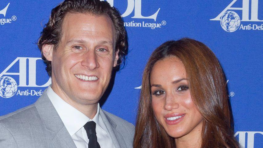 Trevor Engelson und Herzogin Meghan im Oktober 2011