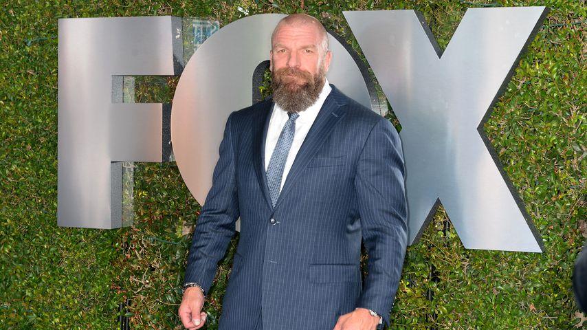 """Triple H bei der """"SmackDown""""-Premiere in Los Angeles, 2019"""