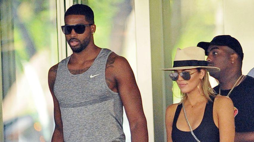 Wegen Baby? Khloe Kardashian & Tristan wohnen jetzt zusammen