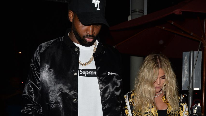 Tristan Thompson und Khloe Kardashian in Los Angeles