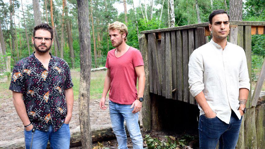 Tuner (Thomas Drechsel), Paul (Niklas Osterloh) und Nihat (Timur Ülker) bei GZSZ
