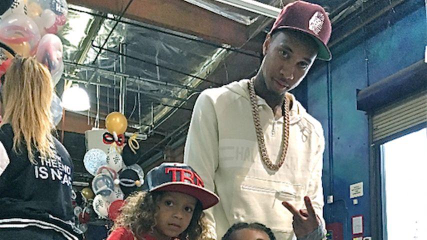Verdächtiges Video: Kifft Tyga in der Nähe von seinem Sohn?