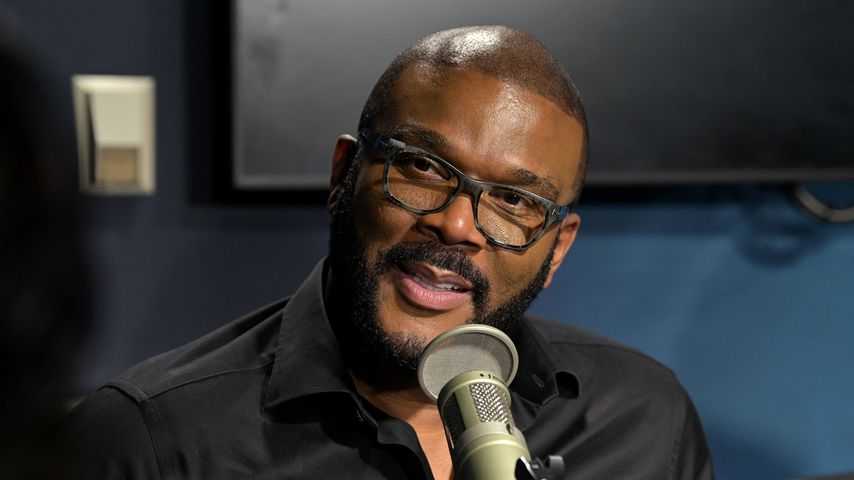 Tyler Perry in den SiriusXM Studios in New York