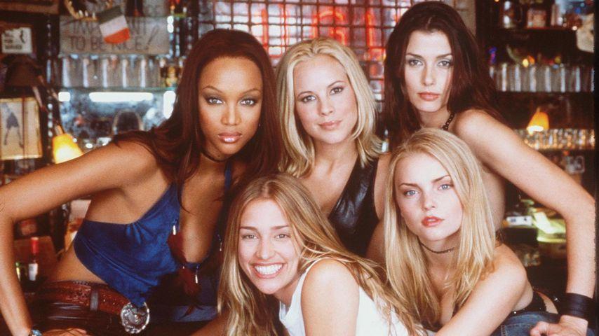 "Tyra Banks, Maria Bello, Bridget Moynahan, Izabella Miko und Piper Perabo in ""Coyote Ugly"""