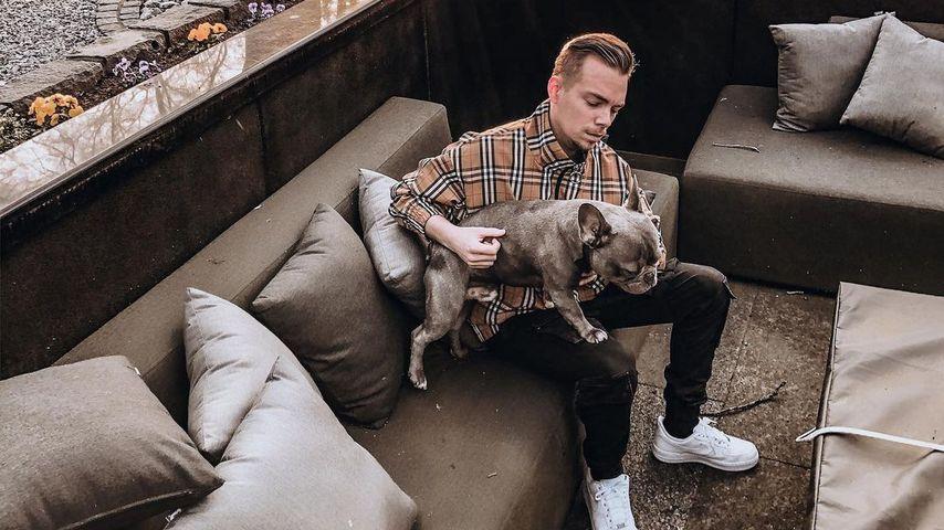 Udo Bönstrup mit seinem Hund