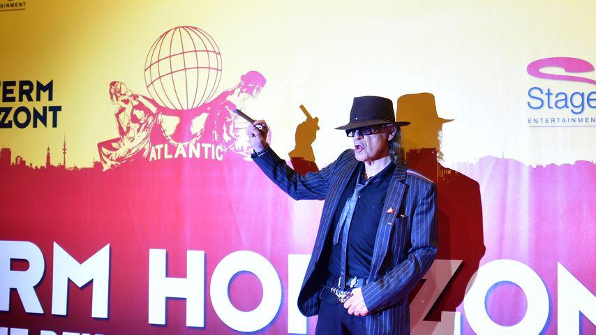 """Udo Lindenberg auf der Premiere des Musicals """"Hinterm Horizont"""" in Hamburg"""