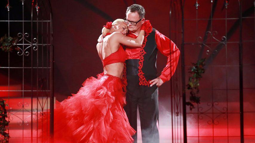 "Ulli Potofski und Kathrin Menzinger bei ""Let's Dance"""