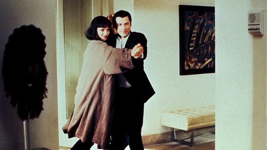 "Uma Thurman und John Travolta in ""Pulp Fiction"""