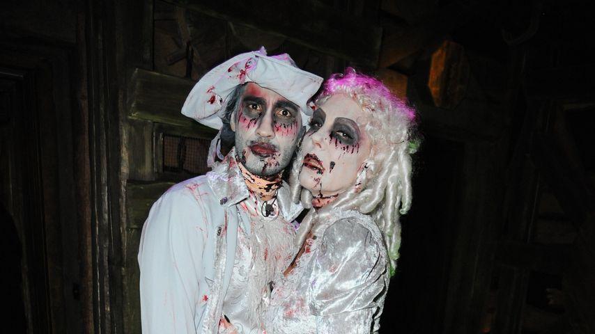 Ehepaar auf Probe: Natascha Ochsenknecht & Umut an Halloween