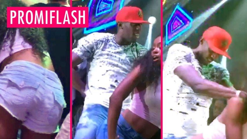 Usain Bolt lässt sich betwerken