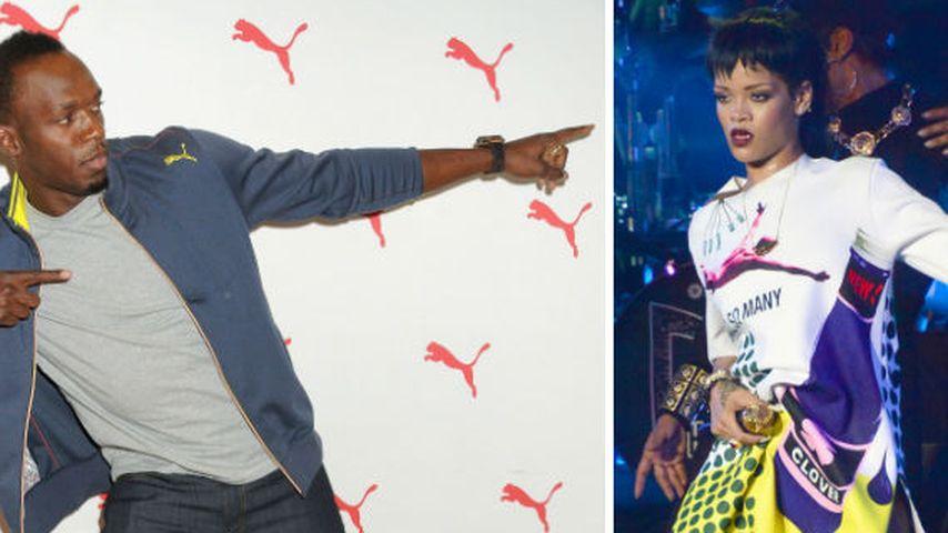 Was? Der schnellste Mann der Welt liebt Rihanna!