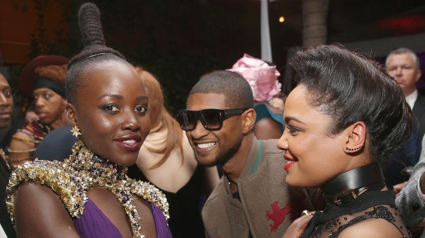 "Lupita Nyong'o, Usher und Tessa Thompson bei der ""Black Panther""-Premiere"