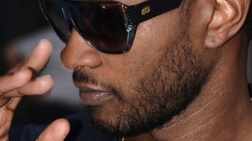 Verpasste Usher etwa die Beerdigung von Stiefsohn?