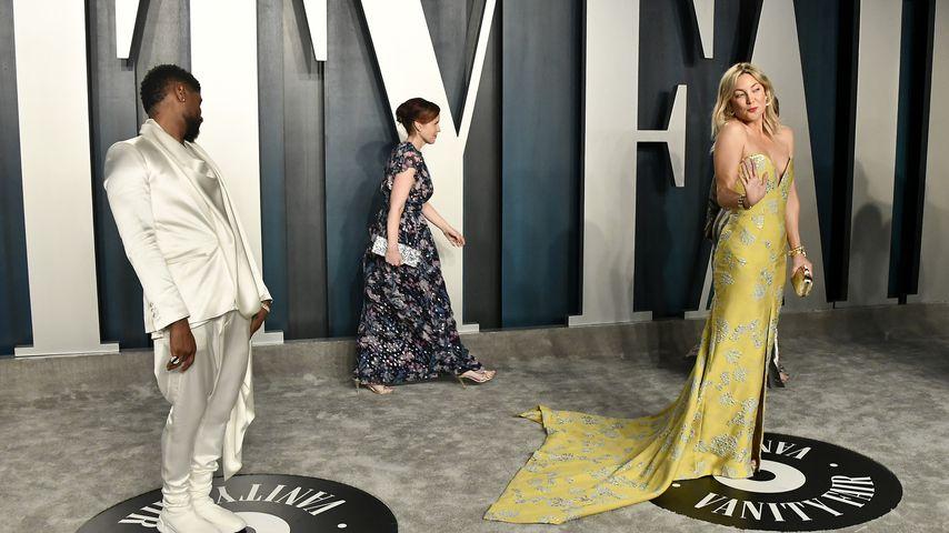 Bei Oscar-Party: Guckt Usher Kate Hudson auf den Hintern?