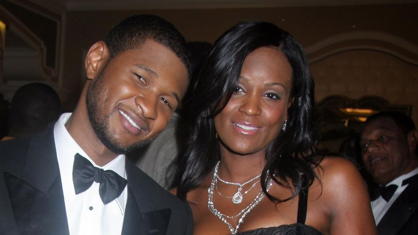 Usher und seine Ex-Frau Tameka Foster in Las Vegas, 2007